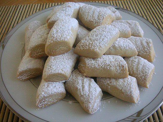 pudra şekerli kurabiye