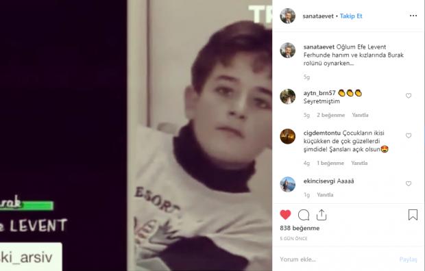Tamer Levent Instagram hesabı