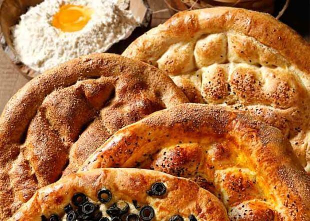 ramazan pidesi çeşitleri ve kalorileri