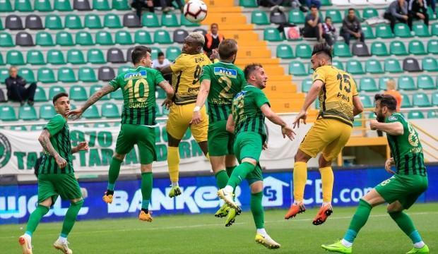 Yeni Malatyaspor Akhisar'ı ateşe attı!