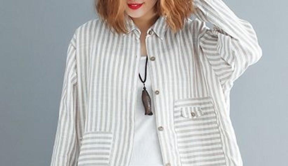 2019'un tunik modasında neler var? Çizgili tunik modelleri