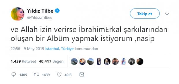 Yıldız Tilbe Twitter