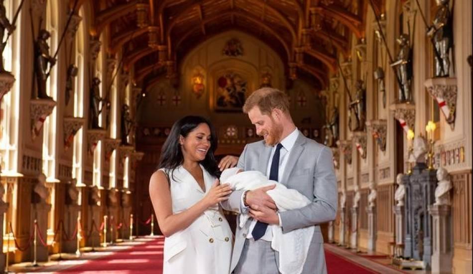 Dünyanın konuştuğu bebek ismi belli oldu! İşte Prens Harry'nin oğlu