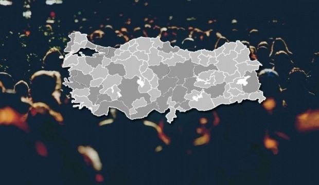 Türkiye'nin nüfus haritasında dikkat çeken veriler