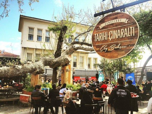 Çengelköy- Tarihi Çınaraltı