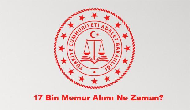 Adalet Bakanlığı 17 bin memur alımı ne zaman? Başvuru şartları neler?