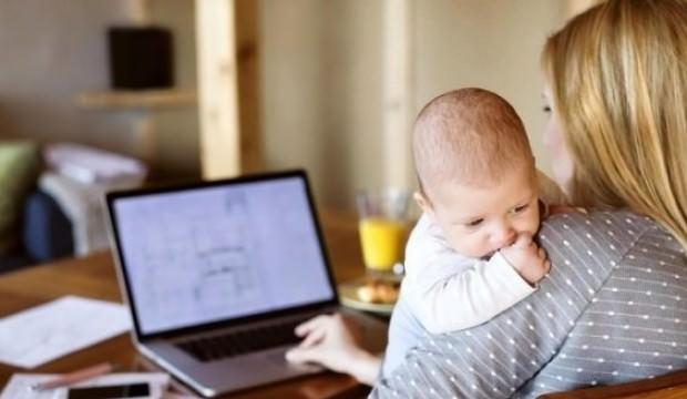 Çalışan anneye 400 TL bakım desteği