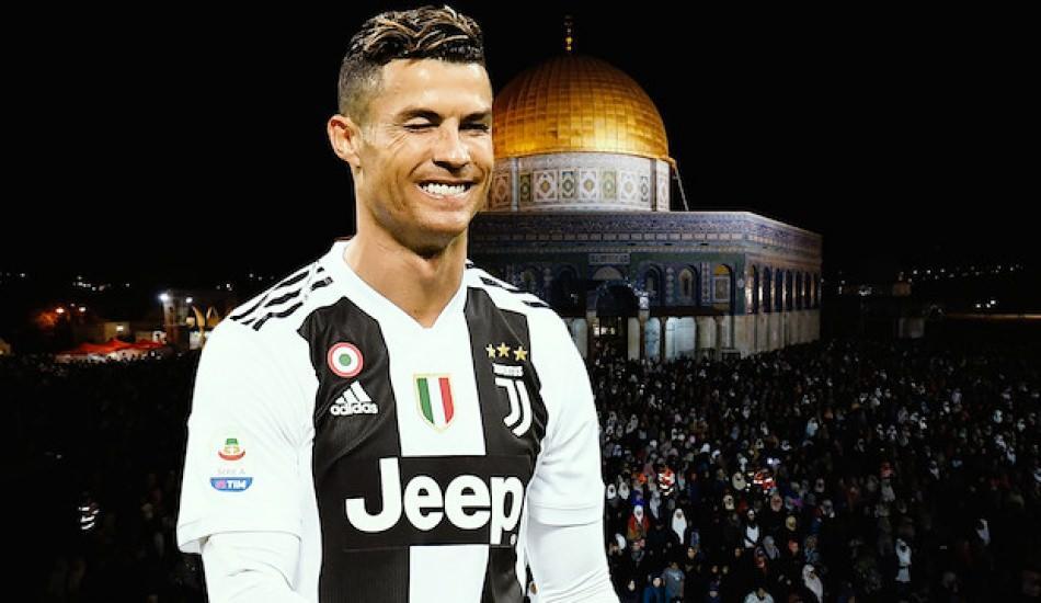 Dünyaca ünlü futbolcu Ronaldo'dan Filistin'e anlamlı bağış!