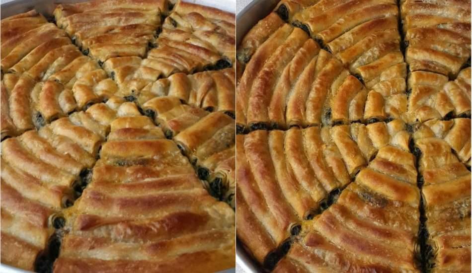 Evde çarşaf böreği nasıl yapılır? Pratik börek