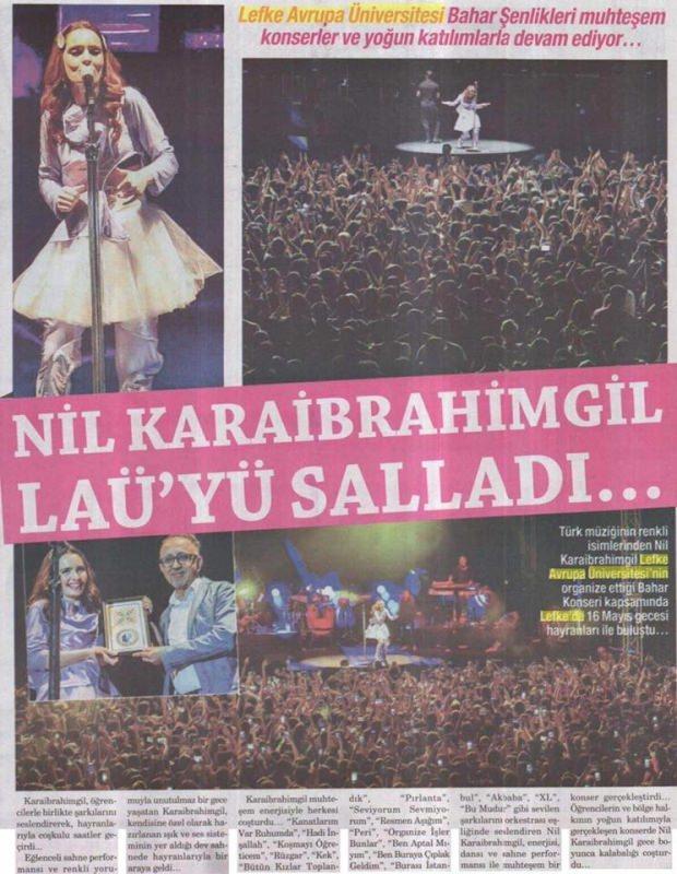 Nil Karaibrahimgil LAU konseri