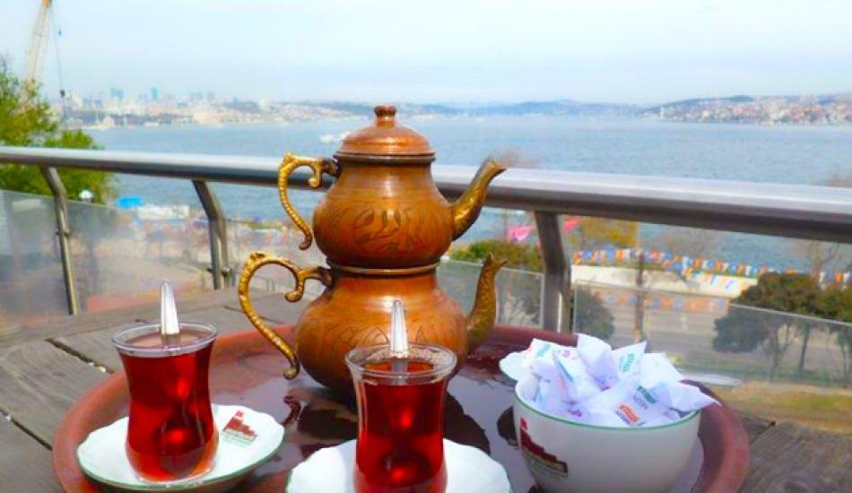 İstanbul Avrupa Yakası'ndaki aile çay bahçeleri