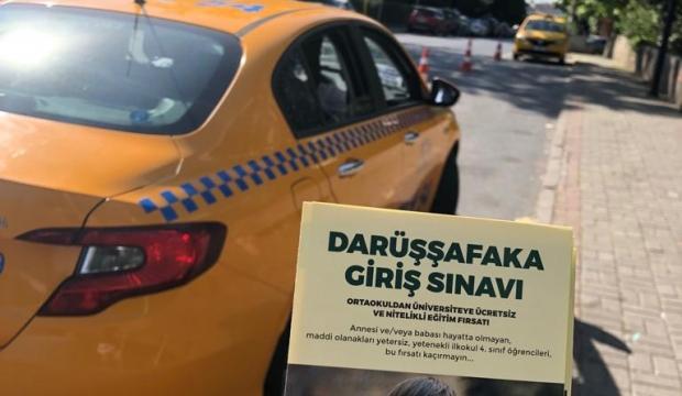 İstanbul taksileri, Darüşşafaka için yollarda