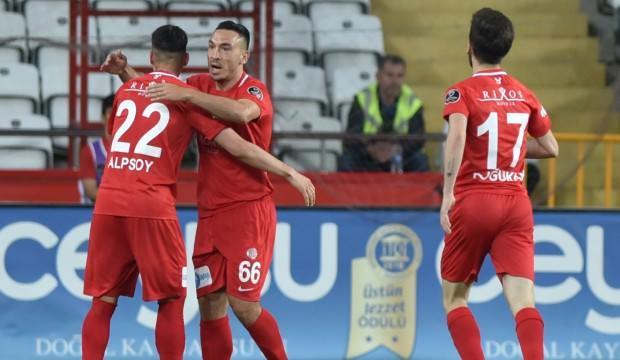 Antalyaspor Avrupa aşkına Malatya'yı devirdi