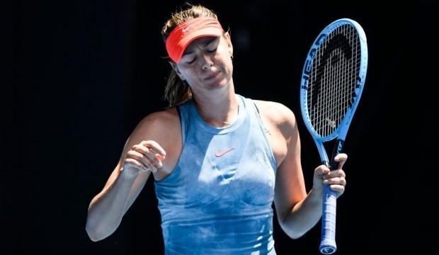Maria Sharapova Fransa Açık'tan çekildi