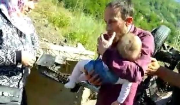 Minik kızına son kez sarıldı! Kahreden haber