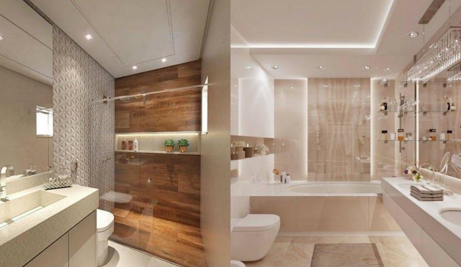 Modern banyo dekorasyonunda öne çıkan fikirler
