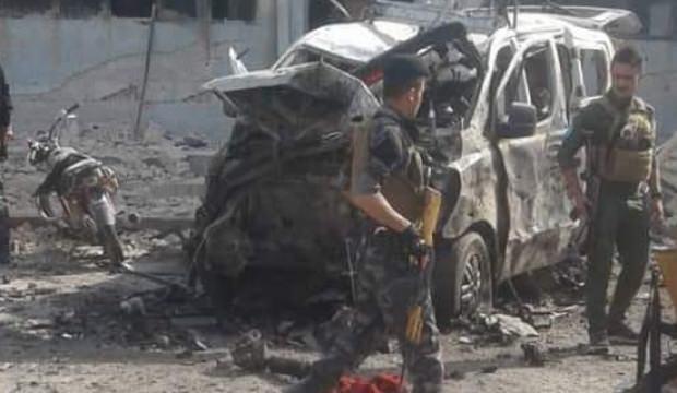 Münbiç'te YPG/PKK'nın sözde merkezinde büyük patlama!