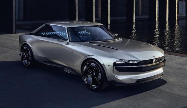 Peugeot'dan e-Legend Concept