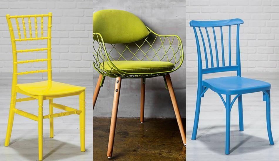 Sandalye dizaynında öne çıkan dekorasyon önerileri