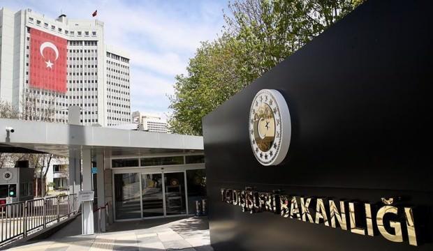 Skandal davete Türkiye'den sert tepki!
