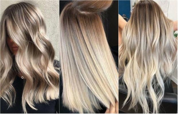sarı saçın bakımı