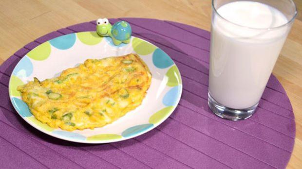 bebekler için sebzeli omlet tarifi