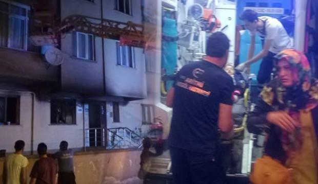 Yangında can pazarı! 14 kişi hastaneye kaldırıldı