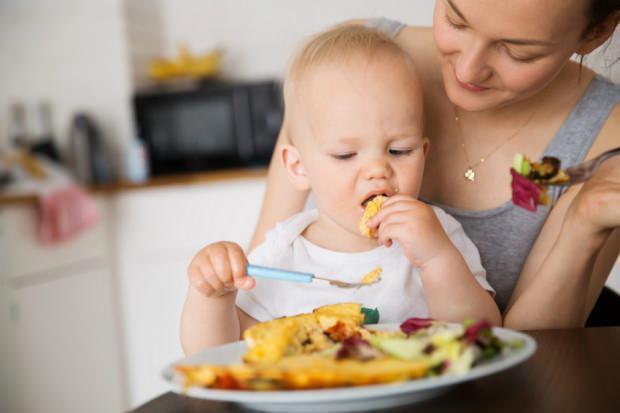 bebekler için patatesli omlet tarifi