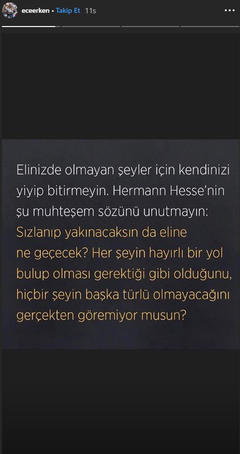 Ece Erken Instagram