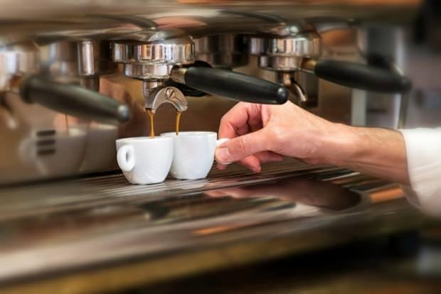 Napoli askıda kahve