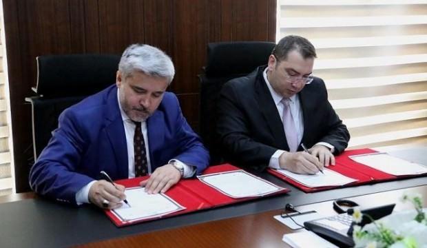 Aksaray Üniversitesi'nde atama sonrası ilk protokol tamam!