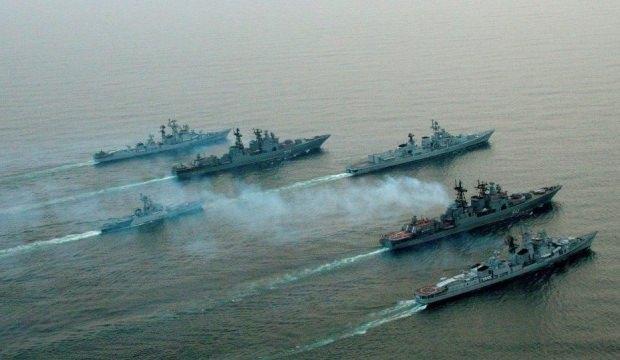 Çin donanması ABD'yi geride bıraktı!