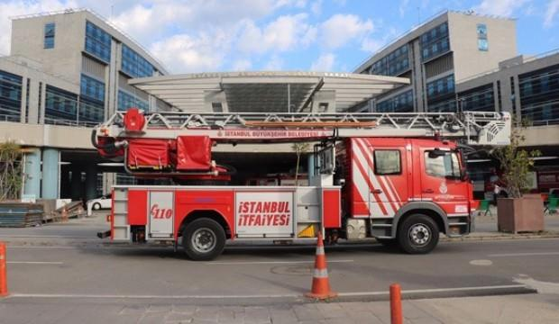 Anadolu Adalet Sarayı'nda yangın