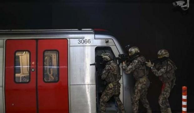 Ankara metrosunda nefes kesen anlar