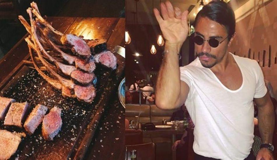 Nusret Gökçe'den yeni altın hamburger!