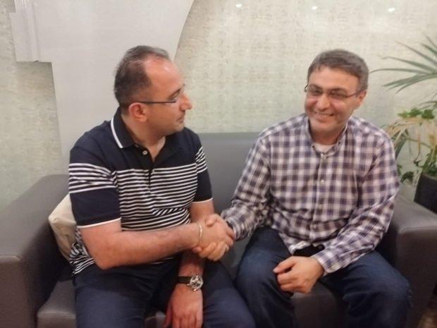 Haber7.com Genel Yayın Yönetmeni Osman Ateşli ve Dr. Nasır Halid