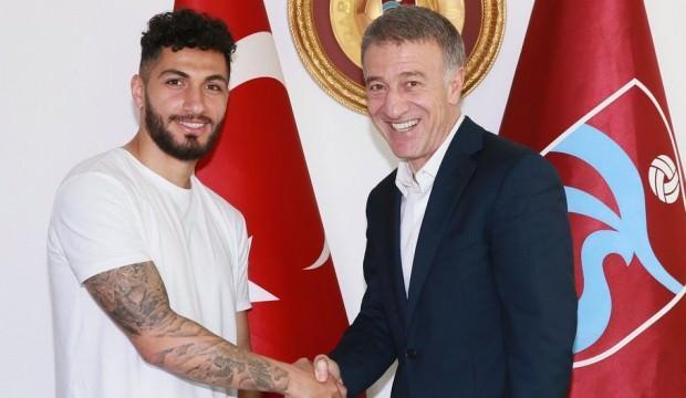 Trabzonspor açıkladı! 2 yıllık imza...