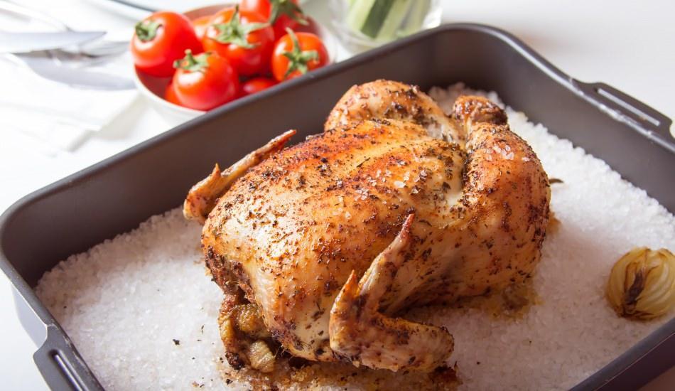 Tuzda tavuk nasıl pişirilir?