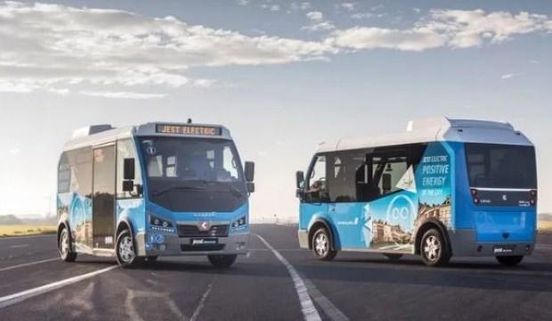 Yerli elektrikli minibüs Avrupa yollarına çıktı