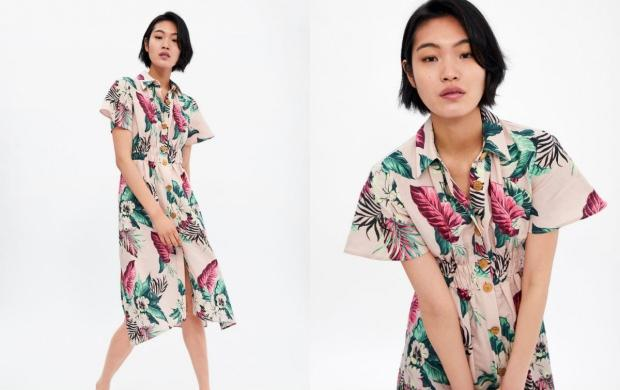 Zara elbise modelleri
