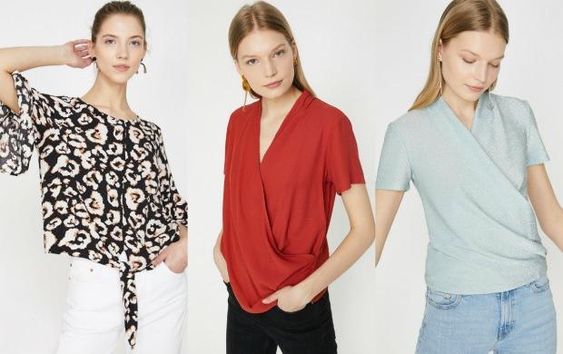 Koton bluz modelleri