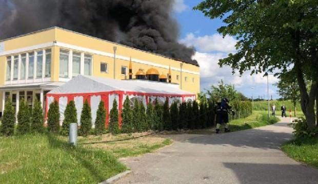 Danimarka'da Diyanet Vakfı'na bağlı camide yangın