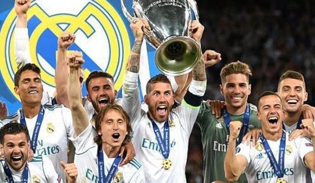 Devler Ligi'nin en başarılısı Real Madrid!