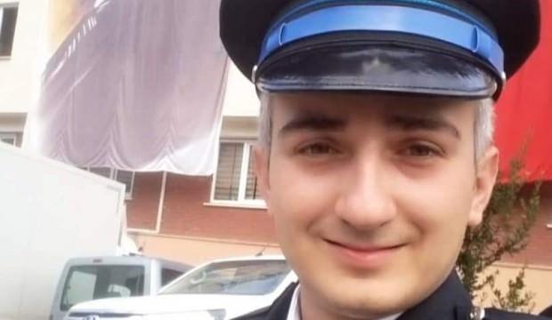 Genç polis kazada hayatını kaybetti