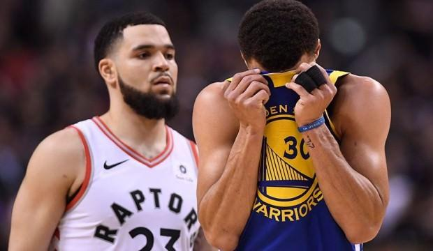 NBA finallerinde ilk maç Toronto'nun!