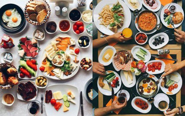 kahvaltı sunumları