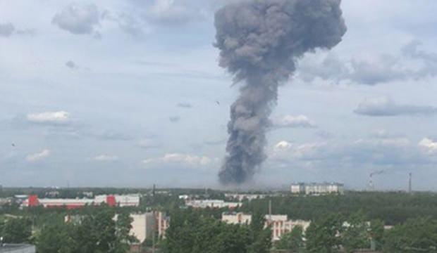 Rusya'da dinamit fabrikasında patlama! 19 yaralı