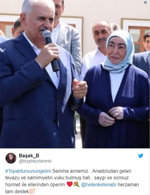 HASAN KAÇAN'DAN SEMİHA YILDIRIM'A DESTEK