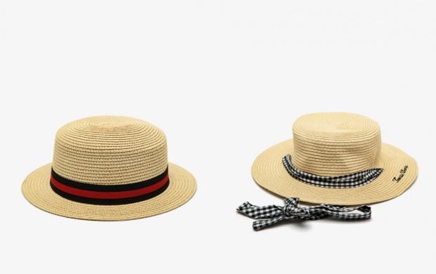 plaj şapkası koton