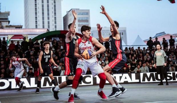 3x3 Genç Milli Takım dünya ikincisi!